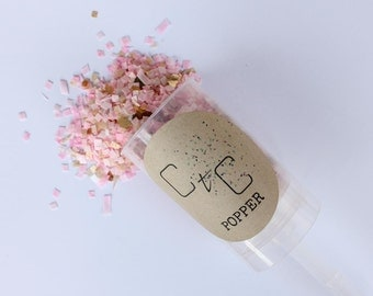 CtC Biodegradable Confetti Popper x 10