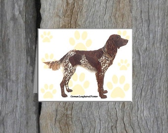 German (Longhaired)  Pointer Note Cards