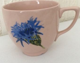 Small cornflower teacup