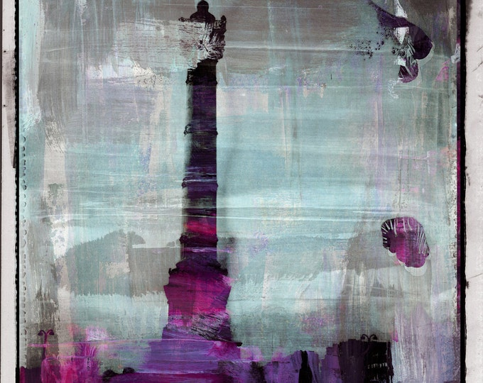 PARIS POLA IV by Sven Pfrommer - 130x100cm Artwork is ready to hang
