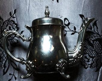Antique Silver Creamer