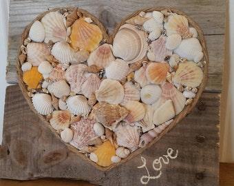 Love of the Beach (Sea shells) Pallet
