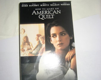 How To Make an American Quilt VHS