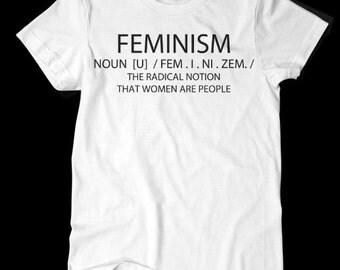 Feminism TShirt White
