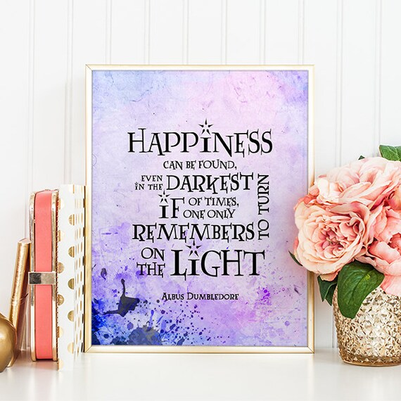 Happiness Can Be Found In The Darkest Of Times Quote: HARRY POTTER Quotes Happiness Can Be Found Even In The Darkest