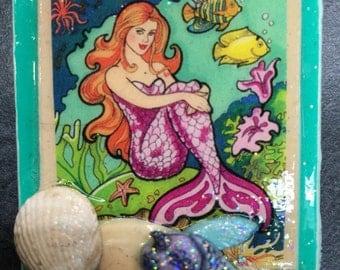 Mermaid with shells