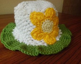 Bloomy Baby Hat