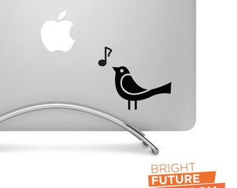 Songbird - cut vinyl decal - for laptops, tablets, cars, trucks and more!