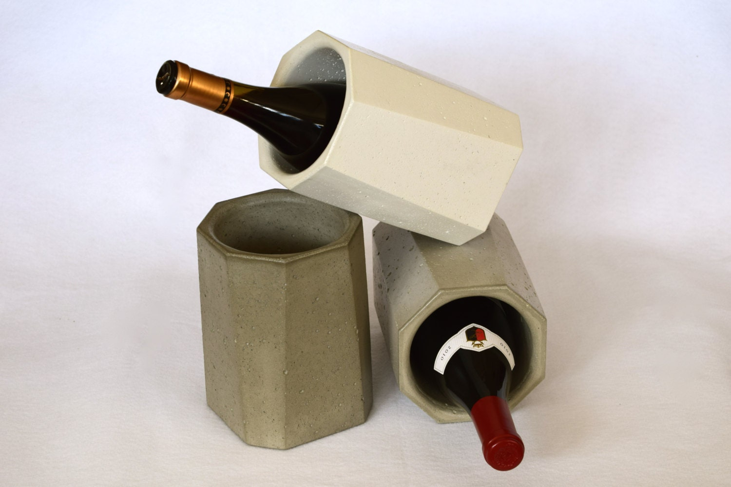 Concrete wine cooler free shipping for Concrete wine cooler