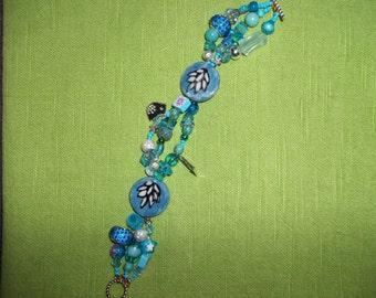 funky turquoise  bracelet