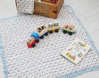 Blue Duck Quilted Play Mat