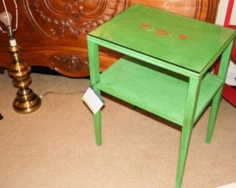Shabby Chic Mahogany Occasional Table