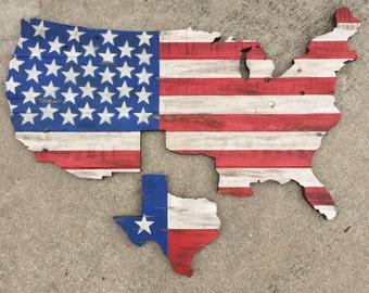 Rustic USA w/ Texas