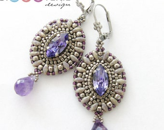 J'adore earrings - instant download tutorial