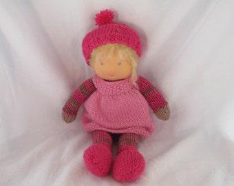 Birna waldorf style doll