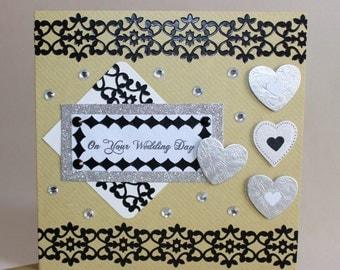 Handmade Wedding Congratulations Card