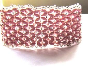 Girlie cuff bracelet