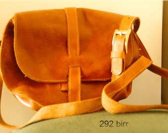 Handmade Leather bag crossbody