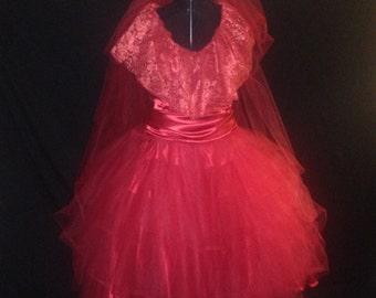 Lydia Costume, Wedding Dress, Halloween, Beetlejuice, Womens Costume, Made To Order, Dress, Adult Costume, Girls Costume, Clothing