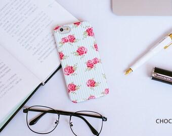 Hand painted iphone6/6s case - Romantic Season - Choco5Design