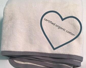 Organic Baby Bath Towel