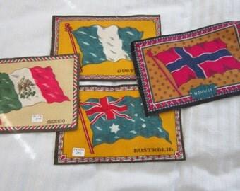 Tobacco Flannel Flags circa 1915