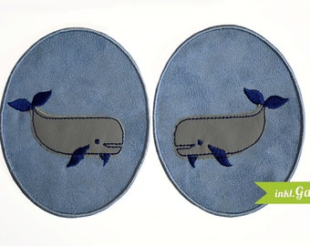 Trouser Patch-Whale application
