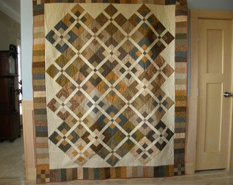 Track Crossing Quilt