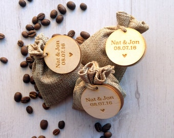 Wedding Favours, Coffee, Personalised, Favors, Coffee Beans