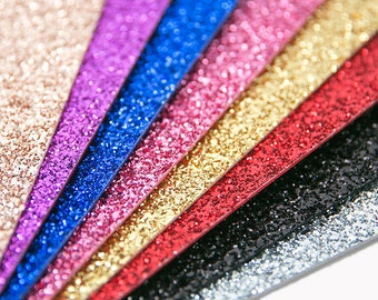 Glitter Felt, Thick Glitter Felt Sheet, Gold Glitter felt fabric, silver glitter felt, shiny felt