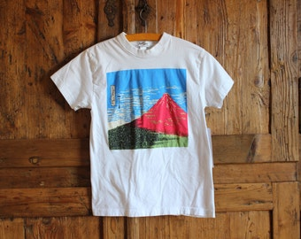 1990s vintage Japanese Fuji tee womans xtra small