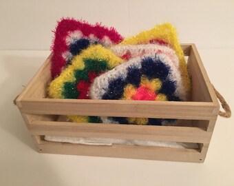 Assorted Crochet Dish Sponge