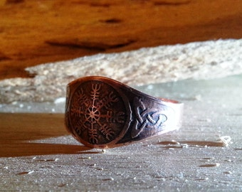 Ring with Helm of Awe