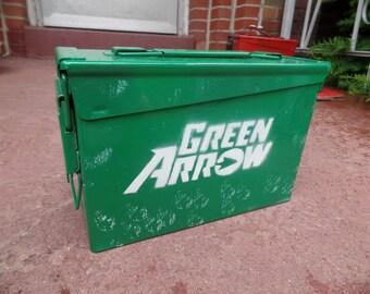 Green Arrow Lunch Box / Ammo Box / Storage