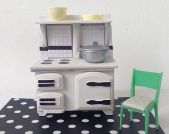 dollhouse miniature furniture kitchenstove