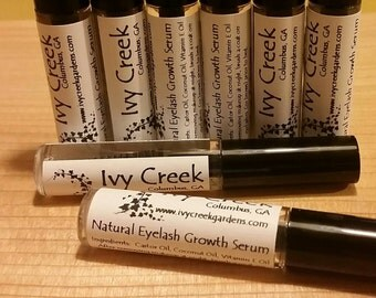 Natural Eyelash Growth Serum, Natural Eyelash Serum, Holistic Eyelash Serum, Gifts for Mom, Gifts for Her