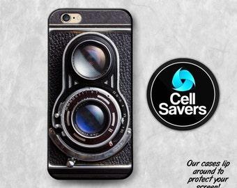 Vintage Camera iPhone 6s Case iPhone 7 Case iPhone 6 Plus iPhone 6s Plus iPhone 5c iPhone 5 iPhone SE Case Twin Reflex Lenses Retro Camera