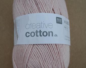 Rico Creative Cotton DK Pastel Pink 004