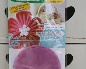 Clover Kanzashi Flower Maker Orchid Petal Large 8487 3in