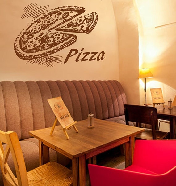 Kik wall decal sticker pizza italian restaurant pizzeria