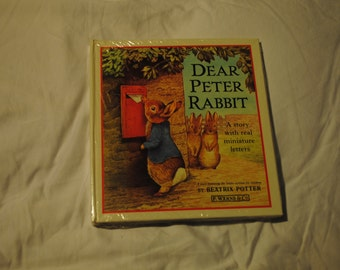 Dear Peter Rabbit A Story With Real Miniature Letters