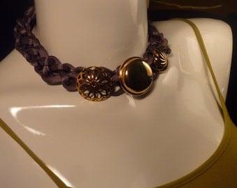 "Necklace Series ""eighties"" # 102-unique piece"