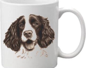 Springer Spaniel Dog, Mug, Printed