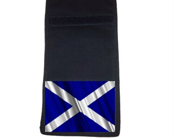 Scotland Flag Printed Ripper Wallet