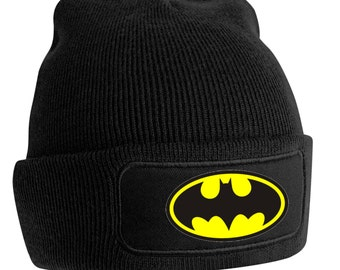 Batman Printer Beanie Woolly Hat