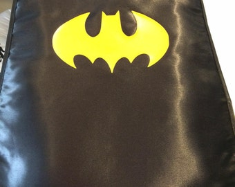 Kids Super Hero Cape- Batman and Superman theme available