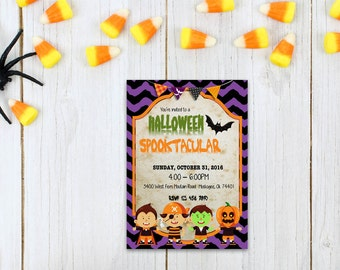 Halloween word invite_8,INSTANT DOWNLOAD - Edit Yourself in Word. Template Editable Text Microsoft Word.DIY You Print.