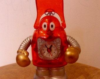 Vintage robot clock