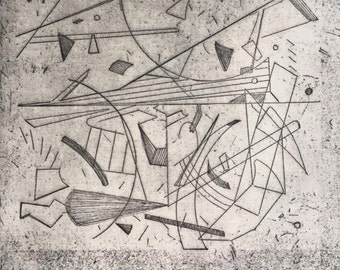 Etching Invisible Cities No. 3