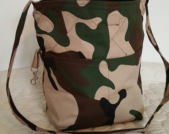 Camoflauge Fabric Bag